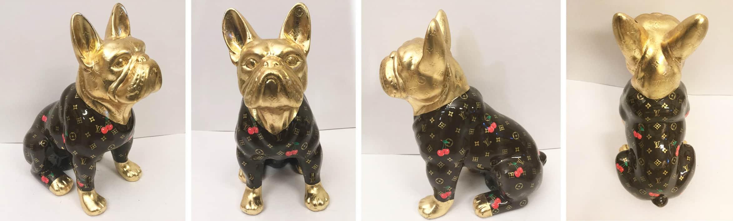 Ewa Sibilska - Brown Louis Vuitton Dog