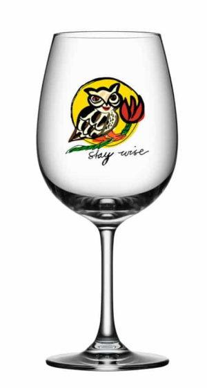Ulrica Hydman Vallien - Friendship Wine Stay Wise