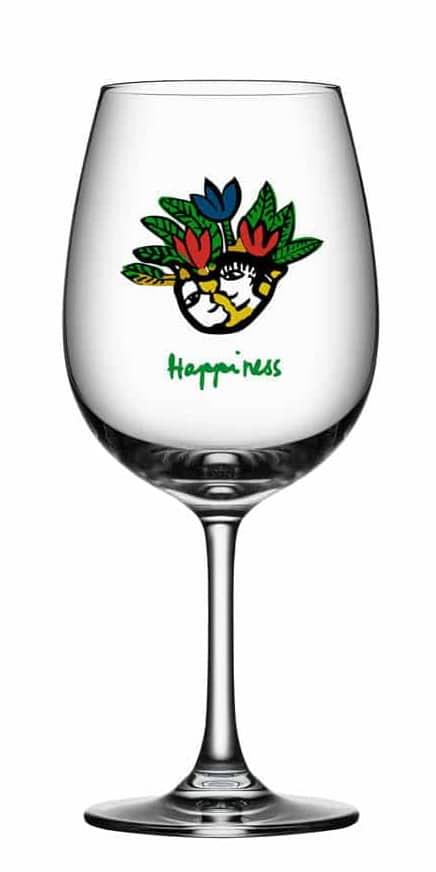Ulrica Hydman Vallien - Friendship Wine Happiness