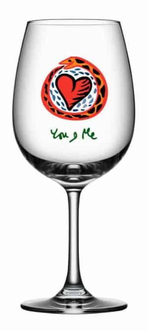 Ulrica Hydman Vallien - Friendship Wine You & Me