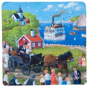Bert Håge Häverö - underlägg - hästbröllop