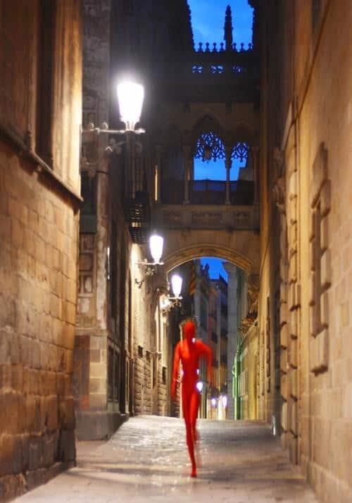 Mystical Gothic Quarter. Barcelona