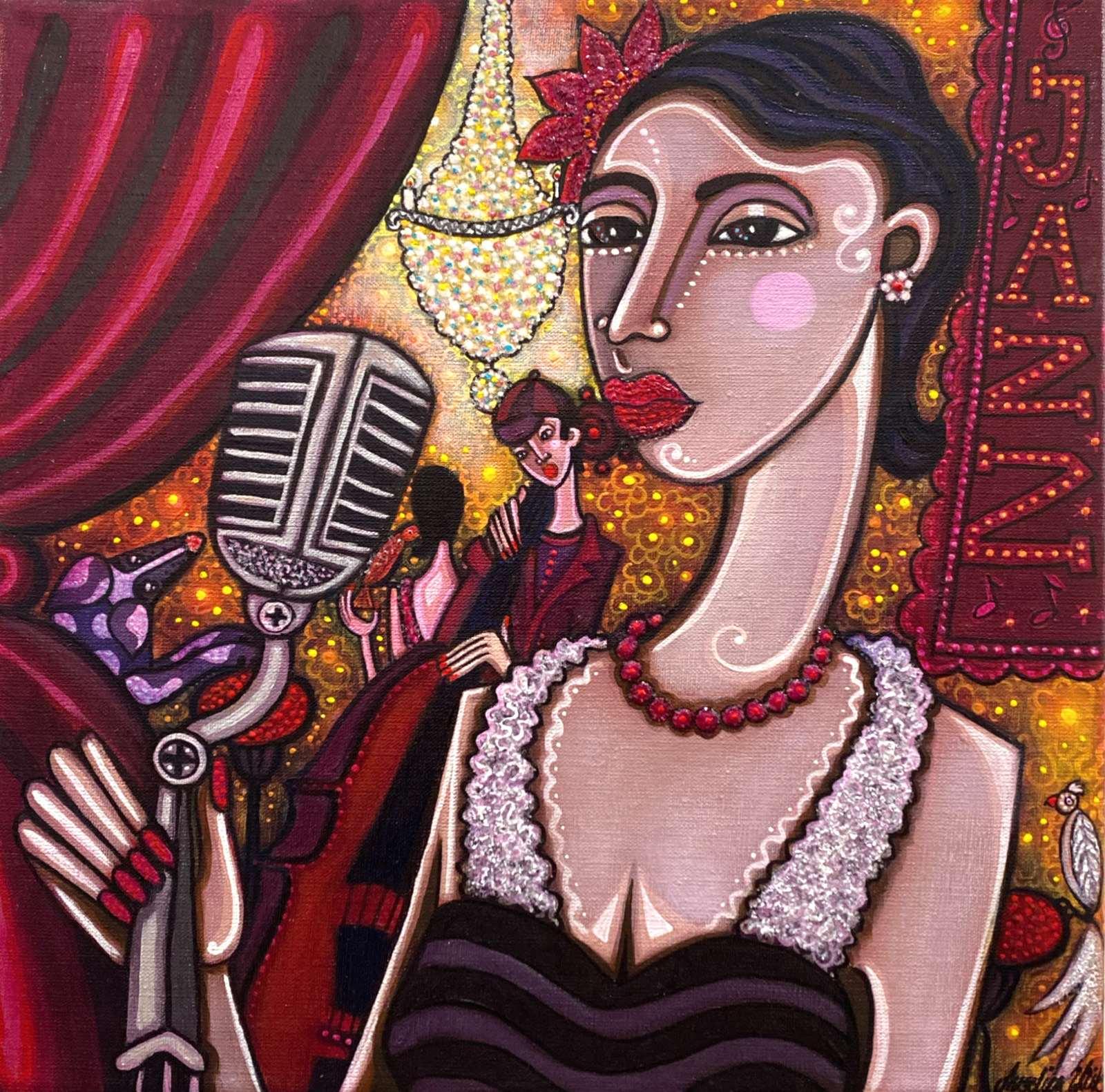 Angelica Wiik Jazz-lady