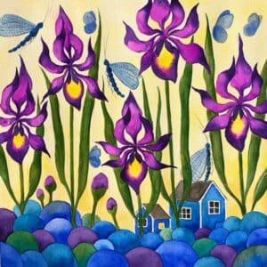 Josefina Wendel Carlsson -Bland liljor och trollsländor