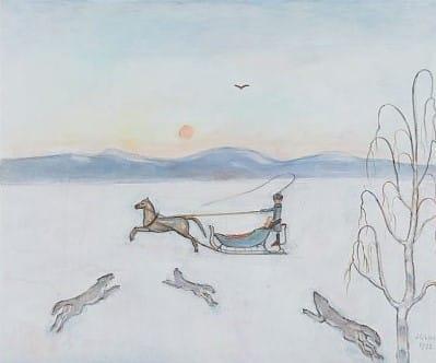 Einar Jolin - Släde