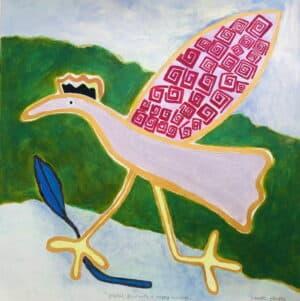 Jeanette Karsten - Bird in landscape