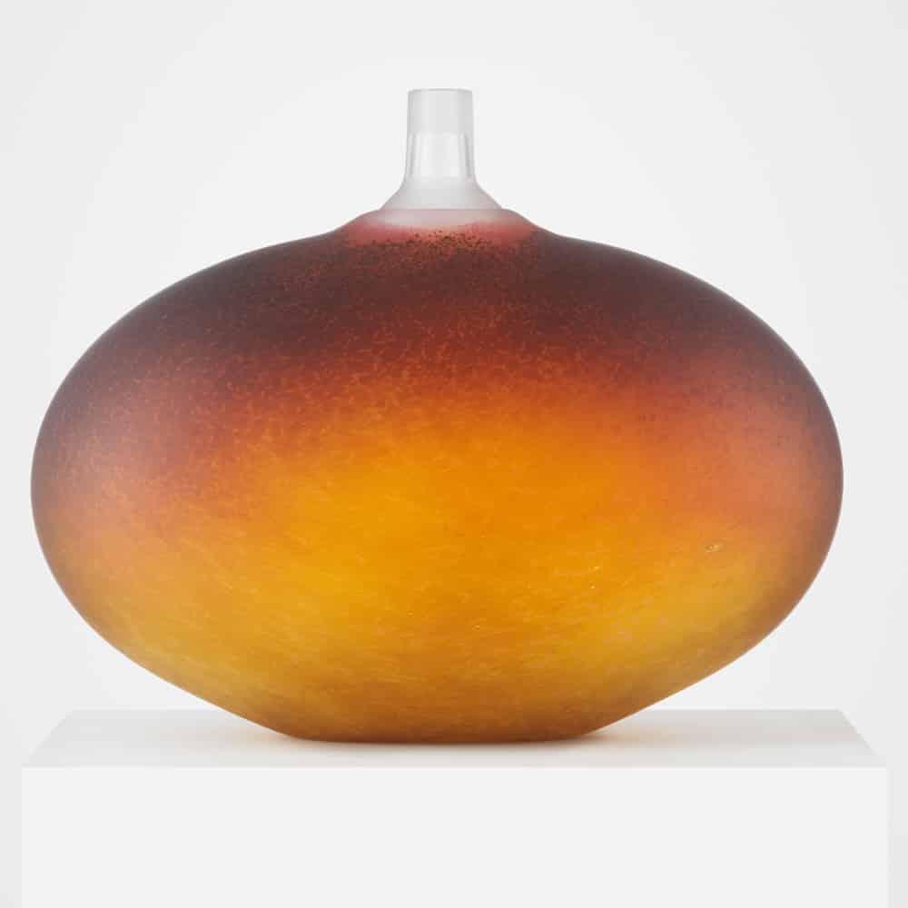 Bertil Vallien - Beans - Guldbrun satin blästrad