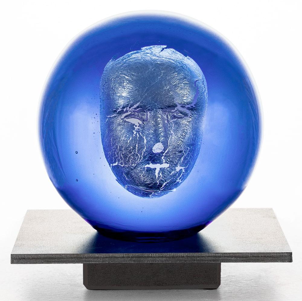 Bertil Vallien - Headman blue