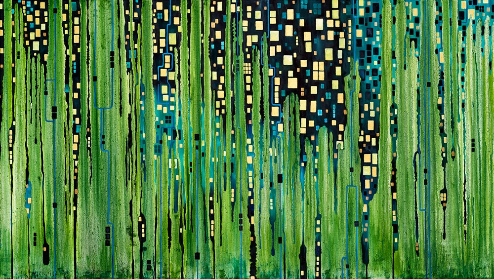 Josefina Wendel Carlsson - City lights panorama