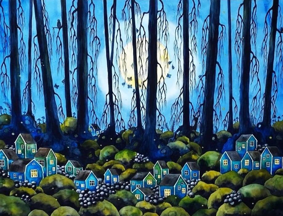 Josefina Wendel Carlsson - Blue dream