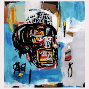 Richard Ryan – Hommage á Basquiat II Litografi