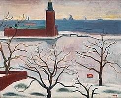 Einar Jolin - Riddarfjärden röd boj