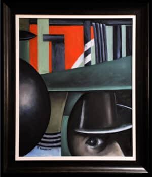 Anders Thomasson - Kuben och kvadraten, cirkeln och klotet köpa konst oljemålningar.